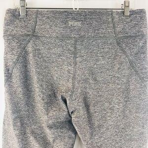 PINK Victoria's Secret Pants & Jumpsuits - Victoria Secret PINK Charcoal Yoga Leggings SZ: L